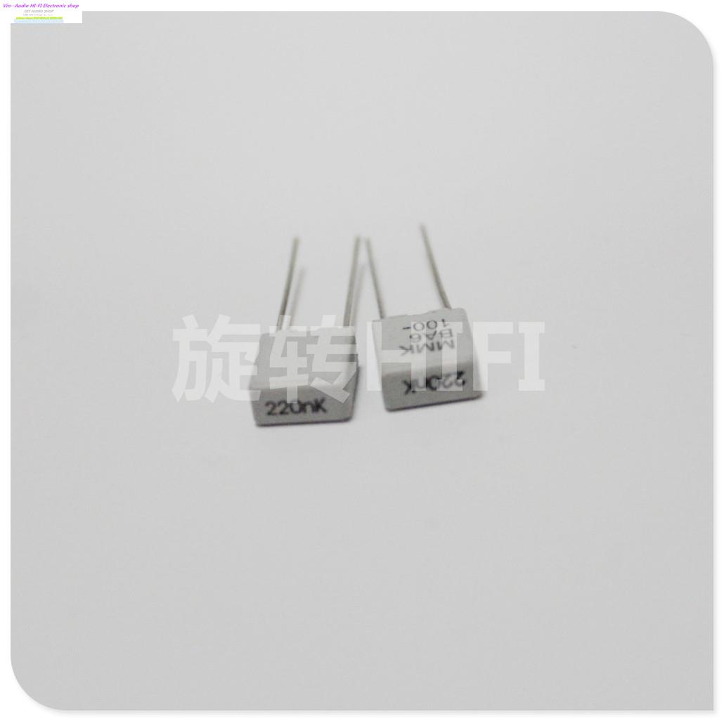 2015 White Rushed Capacitor Bolsa 10PCS Evox Mmk5 224/100v 0.22uf 220nf New For Audio Coupling Capacitance For P5 Free Shipping(China (Mainland))
