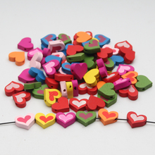 Buy Wood Beads 17mm Lovely Heart Jewelry Baby Puzzle DIY Kids Toys 50pcs Spacer Beading Wooden Beads for $1.39 in AliExpress store