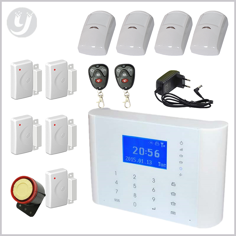 Touch Security Wireless Mobile SIM GSM Alarm System Autodial Alarms Home Office Usage LYD-116(China (Mainland))