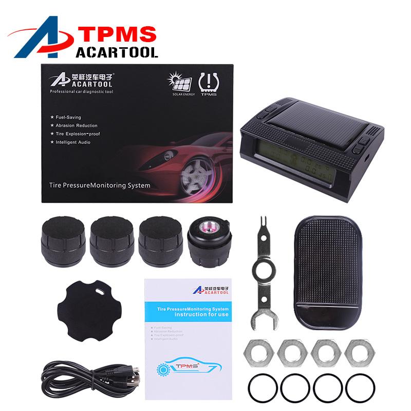 Profession Auto Wireless Universal TPMS Tire Pressure Sensor Tire Pressure Monitoring System Free Shipping(China (Mainland))