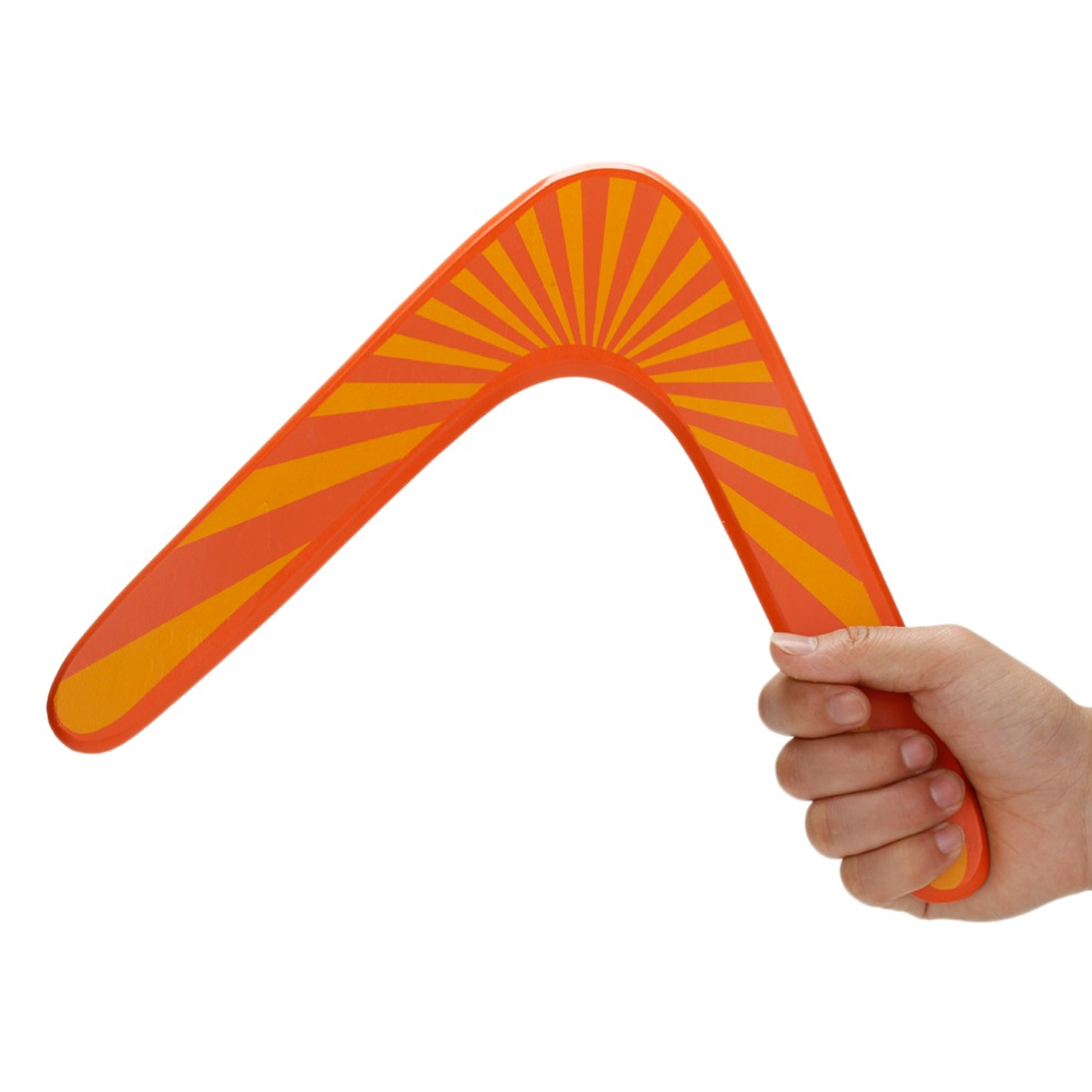 Boomerang high quality classic V shape Frisbee Flying Saucer Toys 40 meters Popular Outdoor Game For Children Parents
