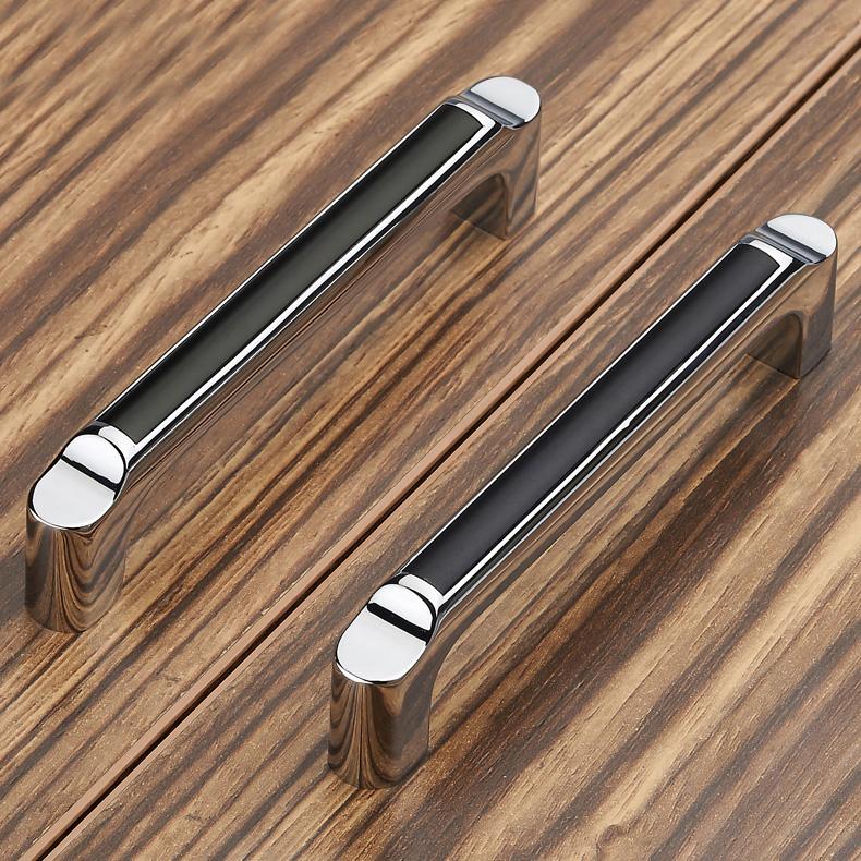 Handgrepen Keuken 128Mm : Black Kitchen Cabinet Door Handles