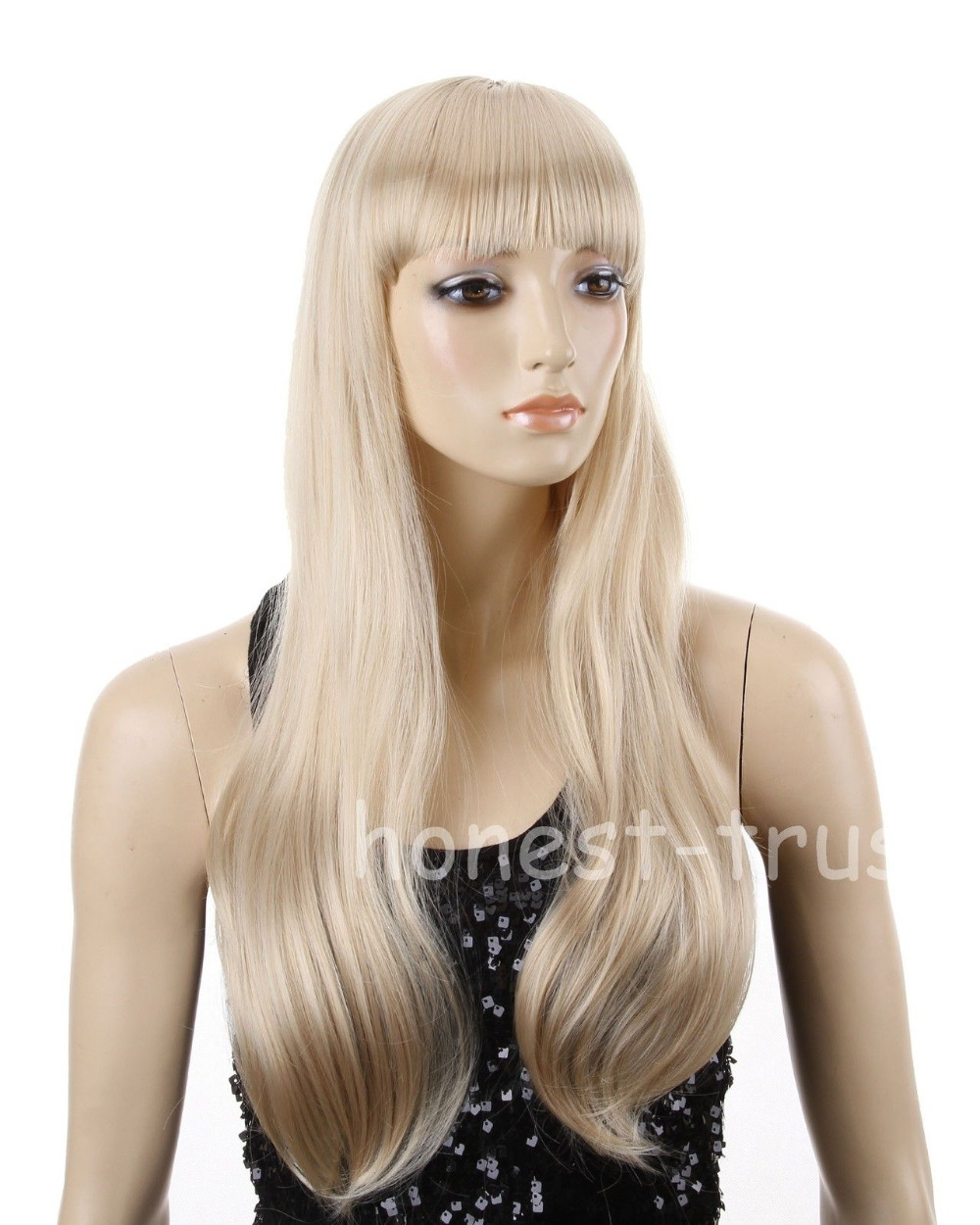 RH2208 fast shipping New Blonde Hair Long Straight Blonde Cosplay Party Wig<br><br>Aliexpress