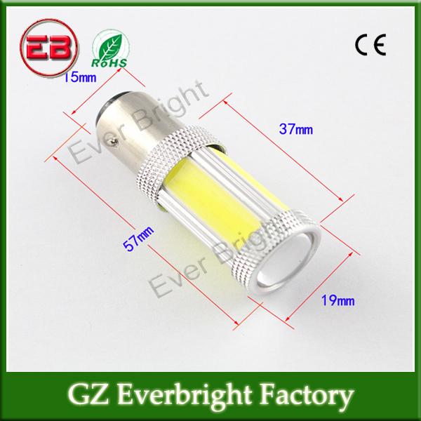 free shipping! 2PC 12V/24V High power COB Turn Lamps S25 COB Led Auto Signal lights Reversing Light Instrument Turn Lamps(China (Mainland))