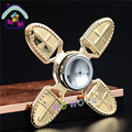 Four Leaf Crusaders Finger Gyro Hand Spinner Metal Alloy Material For Autism And ADHD Rotation Time