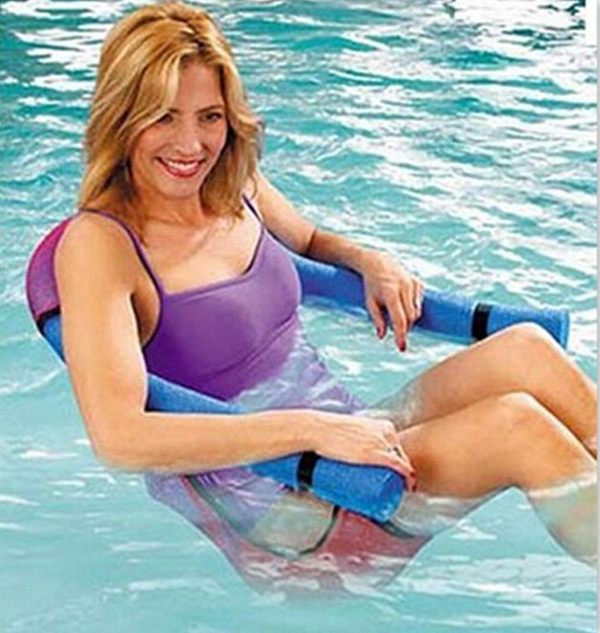 New Swimming Seat Chair Floating Row Floating Bed Kickboard Child Stick Adult Floating Ring(China (Mainland))