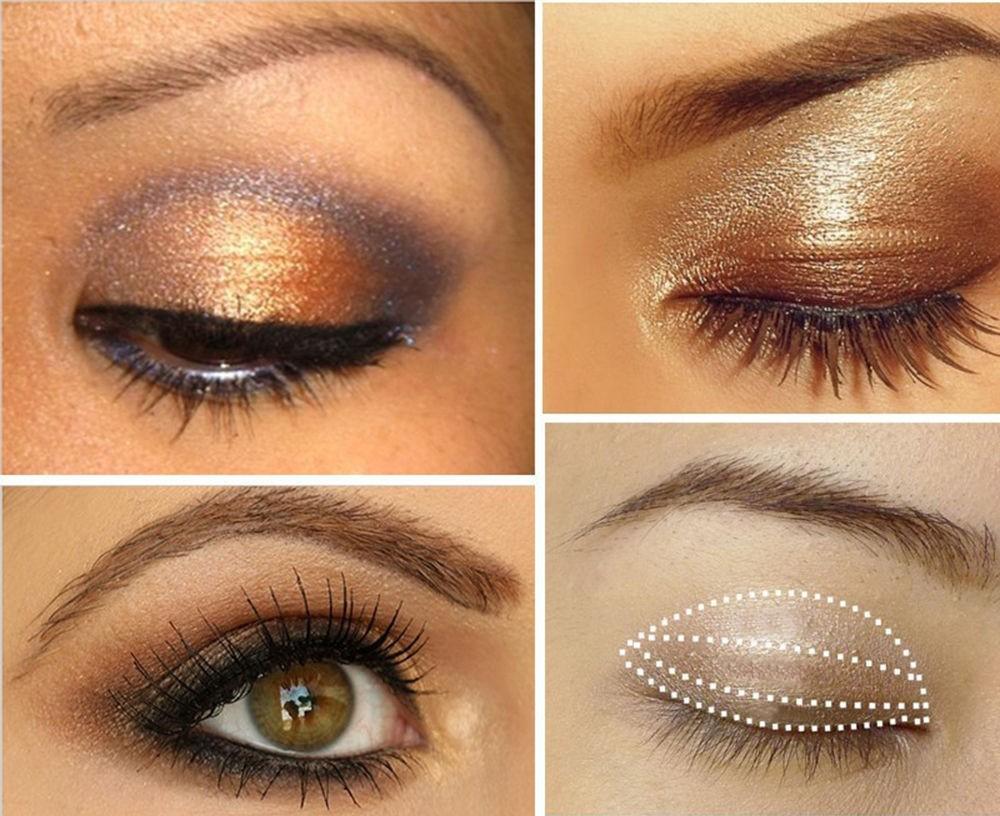Тени для естественного макияжа глаз