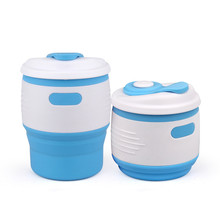 Buy Portable Outdoor Travel Silicone Retractable Folding Cup Telescopic Collapsible Folding Water Bottle Soft Drinking Cup for $7.99 in AliExpress store