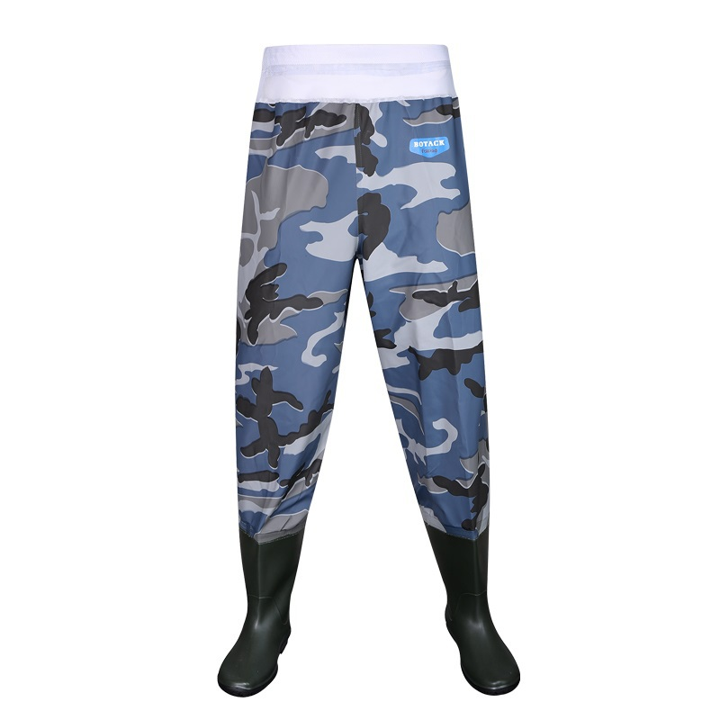Waterproof fishingtrousers wader fishing waders waterproof for Fishing waders with boots
