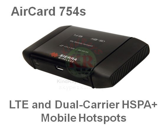 AT&T Sierra Aircard 754S 3g 4g lte wifi router Mobile Hotspot MiFi 3g 4G lte wifi dongle pk b593 760S e5776 mf90(China (Mainland))