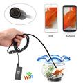 2M 5M 7M 10M 5 5mm 6LED Waterproof WiFi Borescope IP67 Inspection Endoscope Tube Camera HD