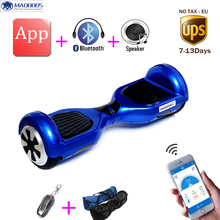 Buy 2 Wheels hover board 6.5 inch APP Skywalker Mini Safety Smart Balance Electric Scooter Hoverboard Skateboard for $185.76 in AliExpress store