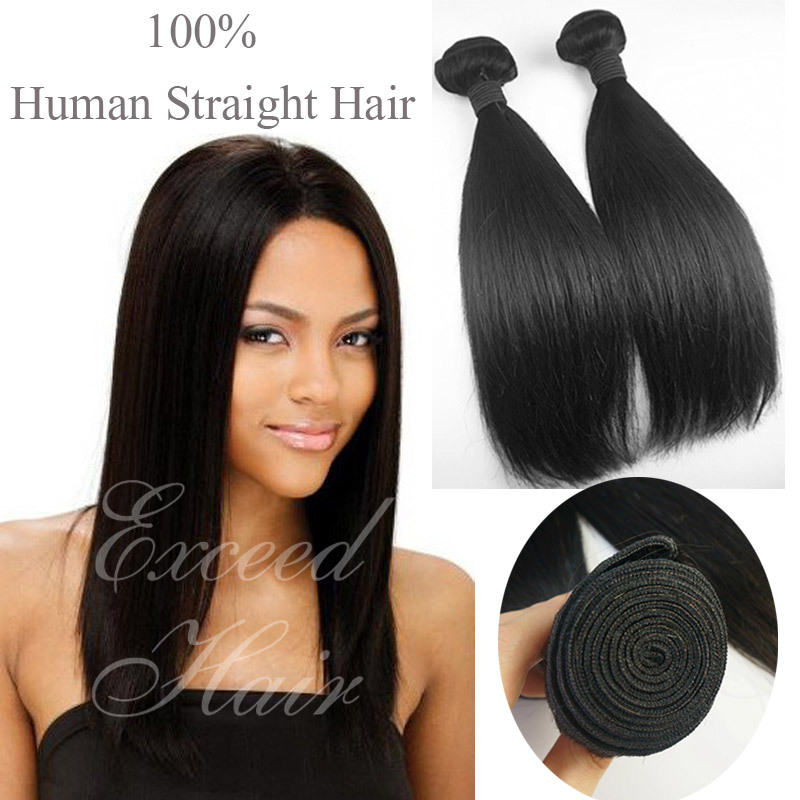 3pcs/lot Brazilian Virgin Hair Straight natural Color Human Hair Weave hair extension brazilian hair bundles DHL free shipping<br><br>Aliexpress