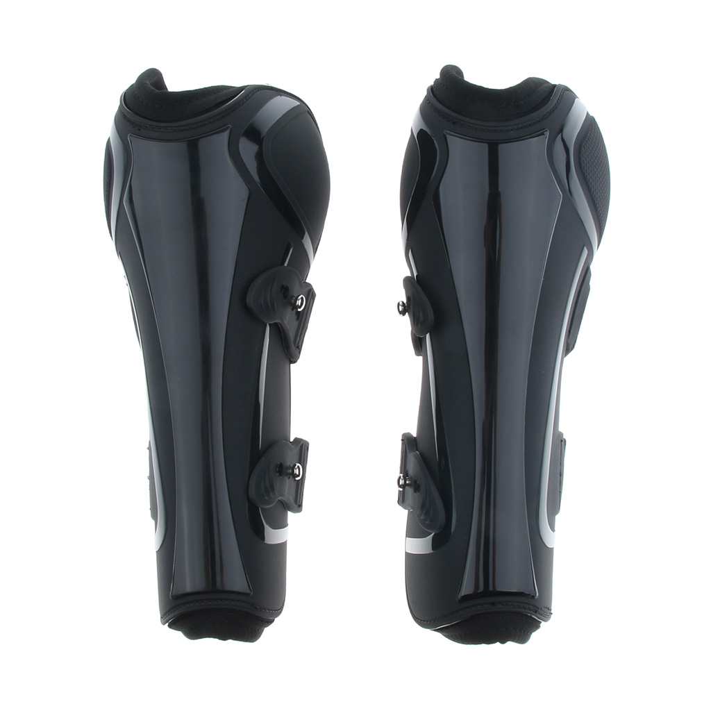 Adjustable Equestrian Tendon Boots Pony Horse Jumping Protection Support