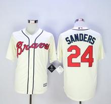 Deion Sanders Baseball Jersey(China (Mainland))