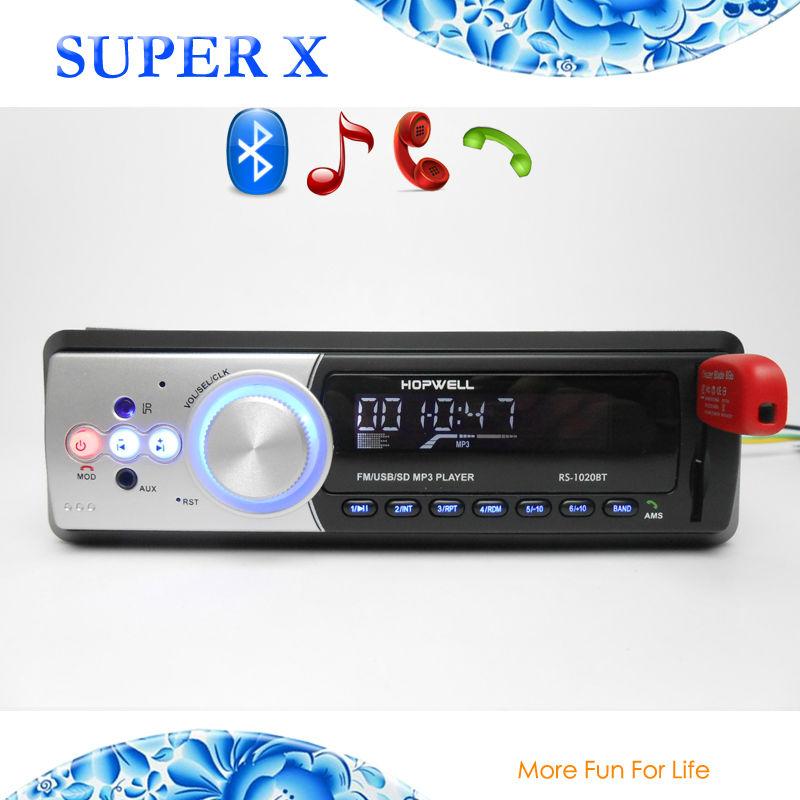 New Design ISO Auto Sound System Car Radio Bluetooth Functions USB SD Music Remote Control(China (Mainland))