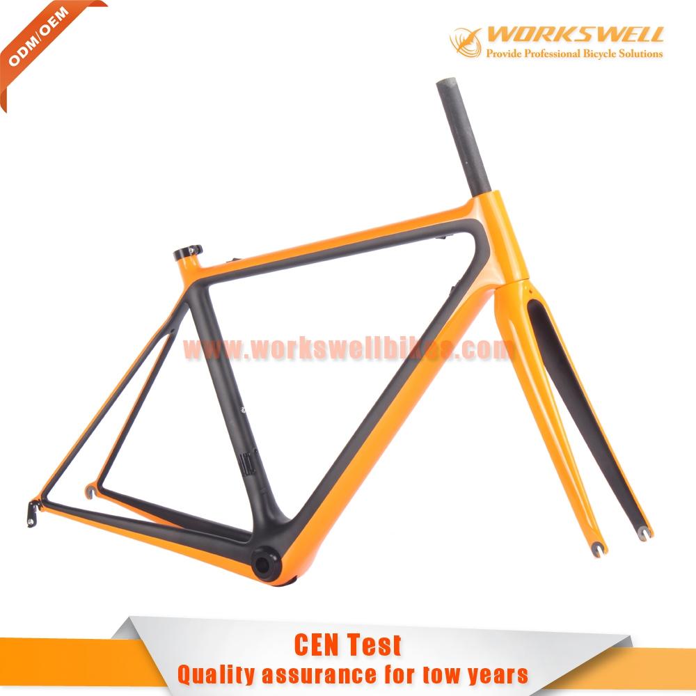 Best sale road bike frame 51/54/56 carbon fiber bicycle frame custom(China (Mainland))
