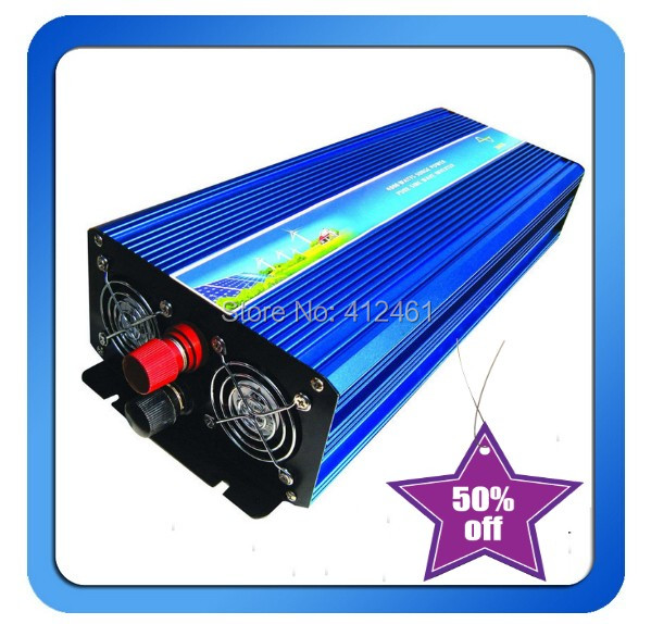 5000W Pure Sine Wave Inverter DC-AC 12/24V/12 To 110V/220V Use for Solar or Home For Fridge Air-condition<br><br>Aliexpress