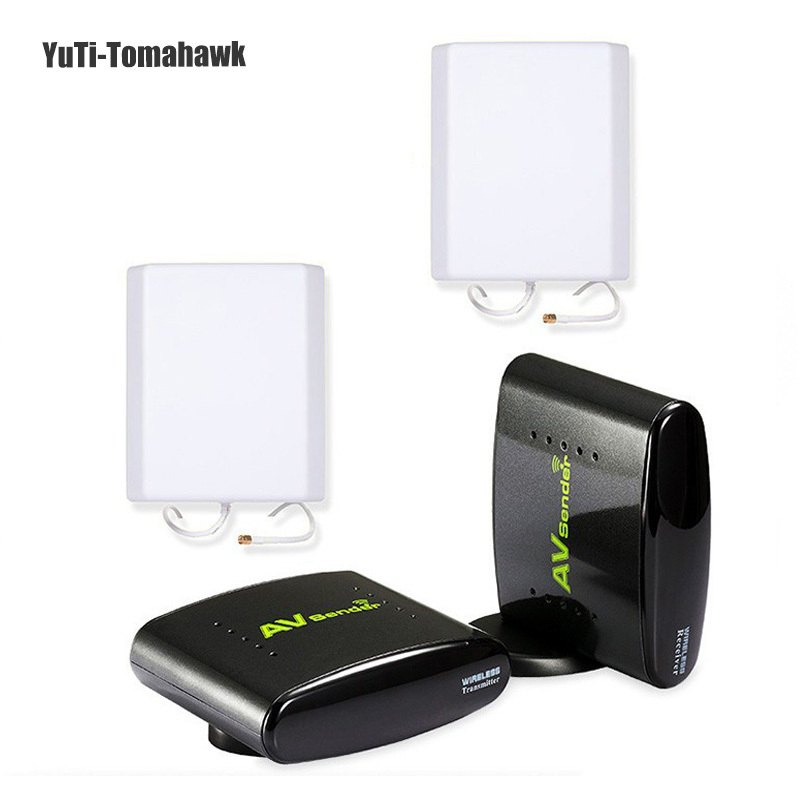 2015! 2.4GHz Wlreless AV Sender Transmitter Receiver TV Audio Video Extend 700m Signal Wireless Transmission - YuTi-Tomahawk store