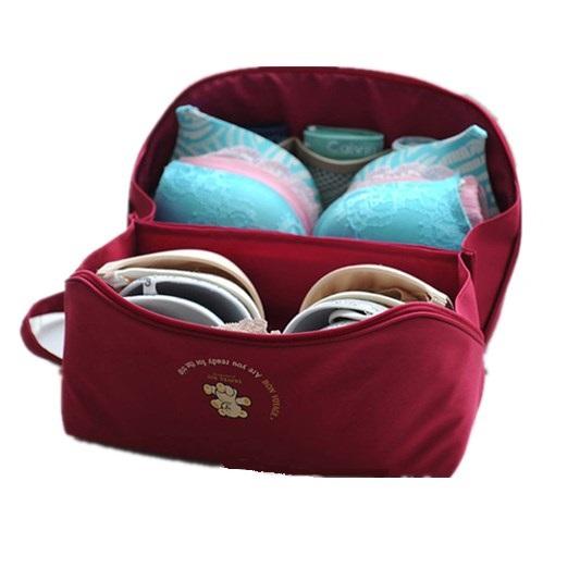 Bra Underwear Lingerie Handbag Organizer Bag Pouch Case For Travel Trip Luggage Waterproof Multifunction Underwear Storage Bag(China (Mainland))