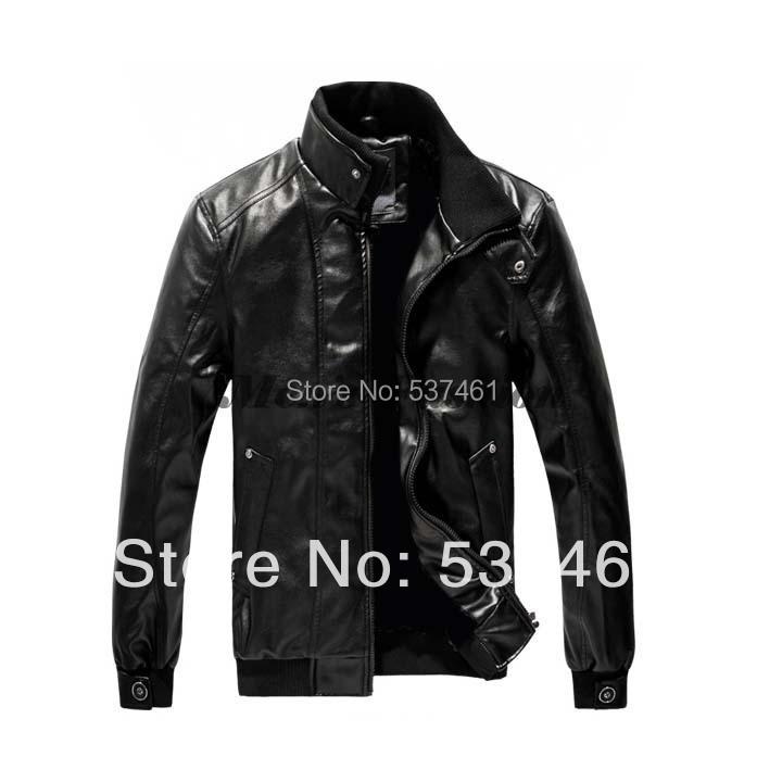 Style Men's suit sheep leather jacket man autumn winter Zipper Designed Mens slim coats 17391 3F - BEST-Fashion store