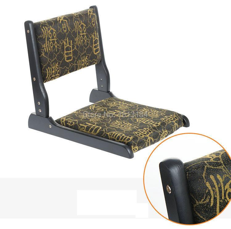Japanese style foldable tatami floor chair zaisu chair for Asian floor chair
