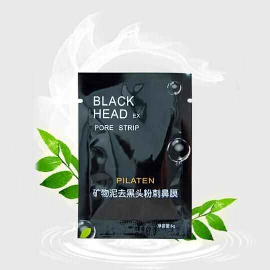 10PILATEN Face Care Facial Minerals Conk Nose Blackhead Remover Mask Cleanser ,Deep Cleansing Black Head EX Pore Strip - Union Foreign trade company store