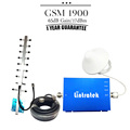 One Set GSM 1900mhz Mobile Phone Signal Booster 17dBm 65dB Gain PCS 1900 Cellphone Cellular Repeater