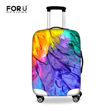 New Graffiti Design Protective Luggage Cover Waterproof Travel Luggage Cover Suit for 18-30 inch Case Elastic Suitcase Cover(China (Mainland))