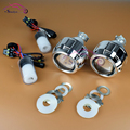 2 5 inch HID Bi xenon Lens Projector Headlight With H1 HID Xenon Bulbs LHD RHD