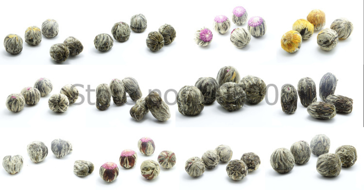 12PCS Different Blooming Flower Tea Artistic Flower Tea