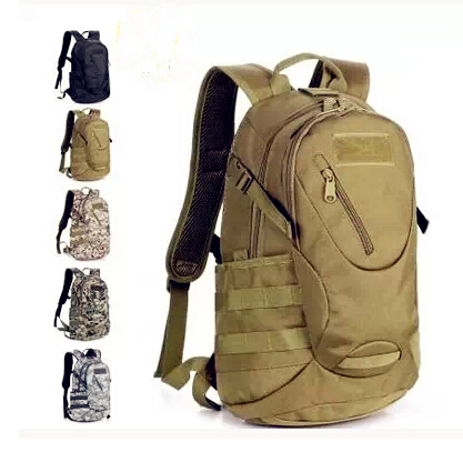 Outdoor Camping Hiking Camouflage Military Tactical Army Computer Laptop Bags Sports Travel Molle Gear School Backpacks Men's - Explore the world store