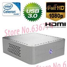 Mini computer host high definition htpc small computer dual-core hd htpc computer