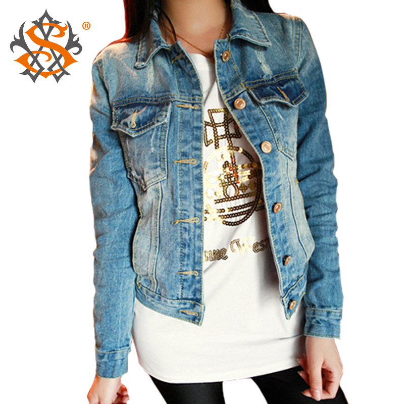 Blue jean jacket for ladies – Modern fashion jacket photo blog