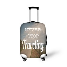 Elastic 18/20/22/24/26/28/30 Trolley Luggage Protective Dust Cover Waterproof Travel Suitcase Cover Clear Luggage Accessories(China (Mainland))
