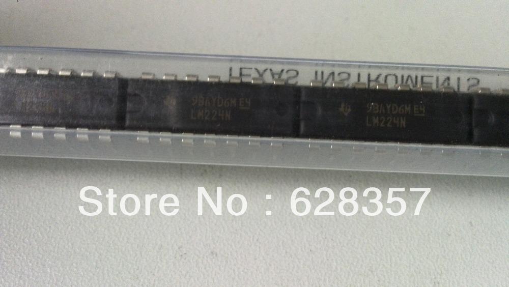 Free Shipping  100 pcs  LM224N  IC  AMP