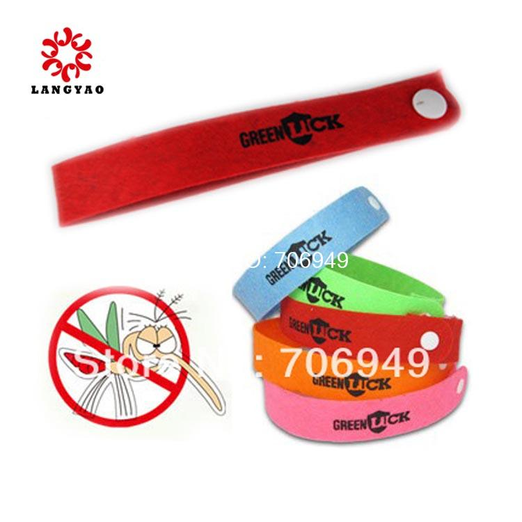 100packs = 100pcs New 2015 Promotion Novelty Households Mosquito Killer Mosquito Repellent Bracelet,Mosquito Bangle -- HTA02(China (Mainland))