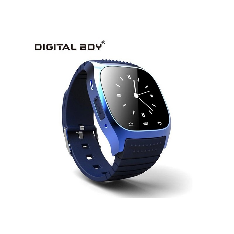 Smart Watch Bluetooth Smartwatch M26 With LED Display Music Player Pedometer For Android IOS Mobile Phone Samsung 2015 New()