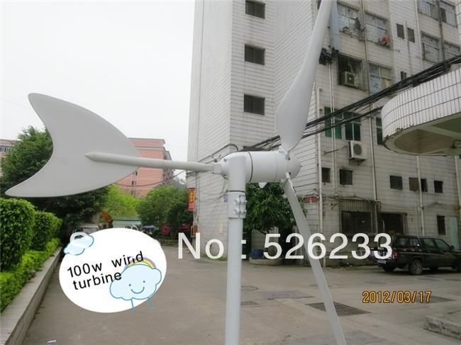 New Design Mini 100W Wind Turbine DC 12V For Sale(China (Mainland))