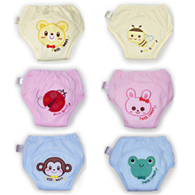 Hot Selling 8pcs/lot 5 layers Baby Training Pants Nappies Infant Diapers Waterproof Boy Underwears Shorts Girl Briefs #009(China (Mainland))