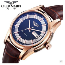 Original GUANQIN Men Watches Top Brand Luxury Automatic Mechanical casual  waterproof men Watches Relogios Masculino Relojes