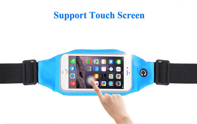 New Waterproof Sport GYM Waist Bag Case For iphone 6 6s Plus for Samsung Galaxy S6 Edge Plus S7 Edge J7 2016 A7 A8 A9 A710
