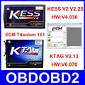 Full Set KTAG V2 13 ECU Programmer V2 25 KESS V2 V4 036 OBD2 Manager Tuning