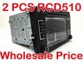 2 PCS RCD510 VW Radio Golf 5 6 Jetta MK5 MK6 CC Tiguan Passat b6 b7