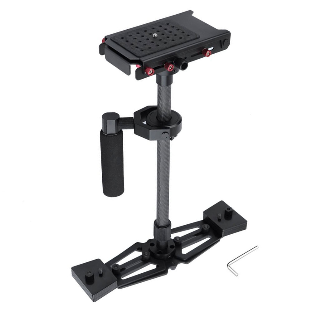 YELANGU Professional Carbon Fiber Handheld Camera Gimbal dslr Steadicam glidecam - FILMING EQUIPMENT store