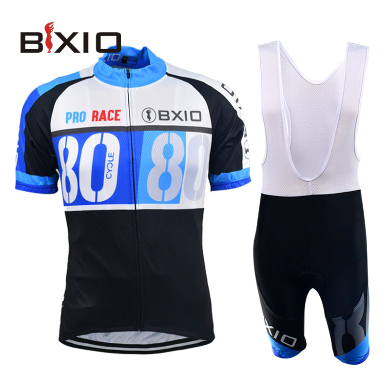 Bxio Cycling Jersey Pro Team Cycle Jerseys Quick Step Kit Culotes Cortos Ciclismo Short Sleeve Mountain Bike Clothing Set 037(China (Mainland))