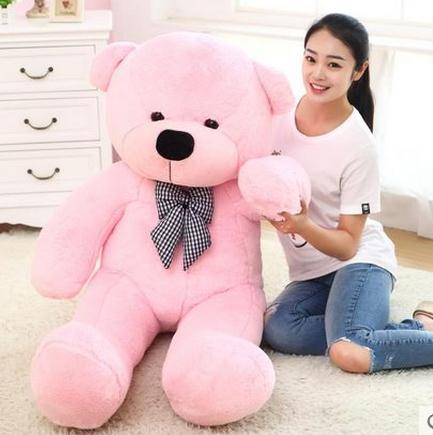 Recommend Toys Teddy Bear 1.2 Meters Hold Pillow Big Embrace Bear Doll Plush Bear Doll/ Christmas Birthday Lovers Gifts(China (Mainland))
