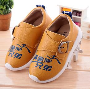Boys fashion leather shoes students leisure shoes sneakers baby shoes kids chaussure enfants 216a<br><br>Aliexpress