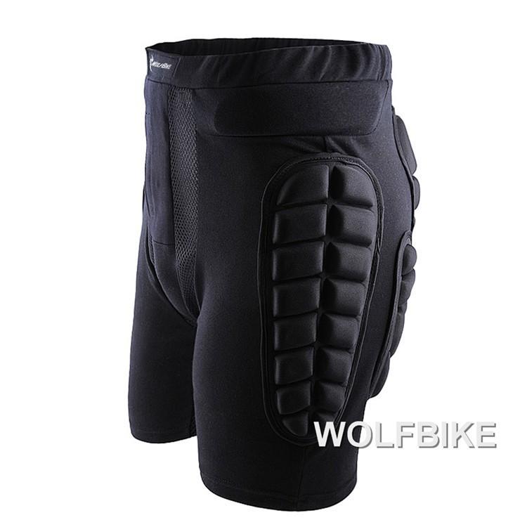 Слон wolfbike Черный короткий защитный для бедер и ягодиц колодки лыжи коньки HTB1bo5tGXXXXXamXXXXq6xXFXXXU