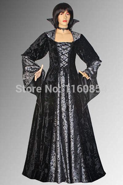 Medieval Gothic Inspired Vampire Dracula Elegant Dress Handmade in Velvet Multiple Colors AvailableОдежда и ак�е��уары<br><br><br>Aliexpress
